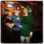 Yep, I was a raccoon for Tuesday's costume run. No shame.